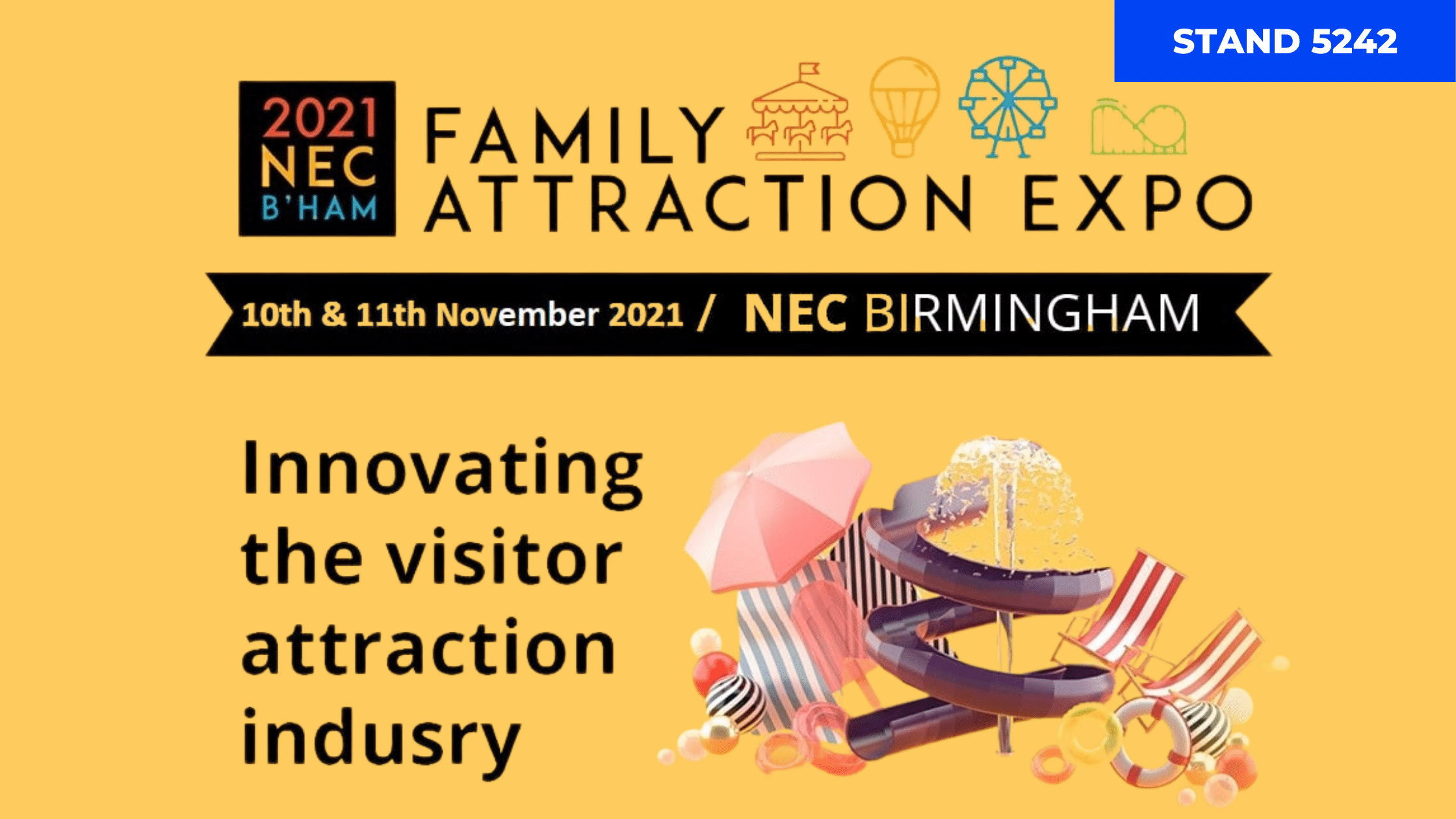 Laserforce at Family Attractions Expo 2021 BHAM