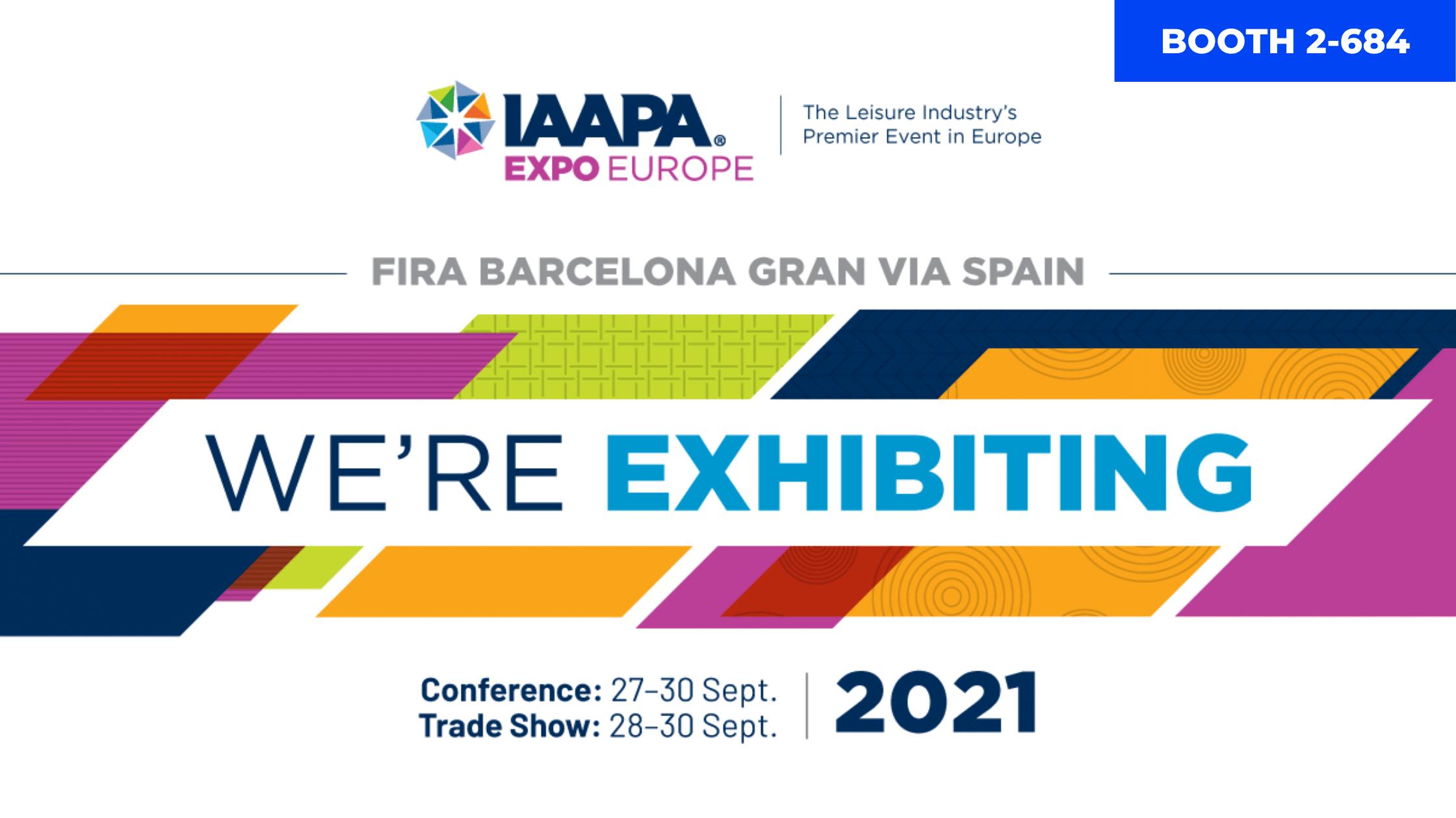 Laserforce at IAAPA Expo Europe EMEA 2021