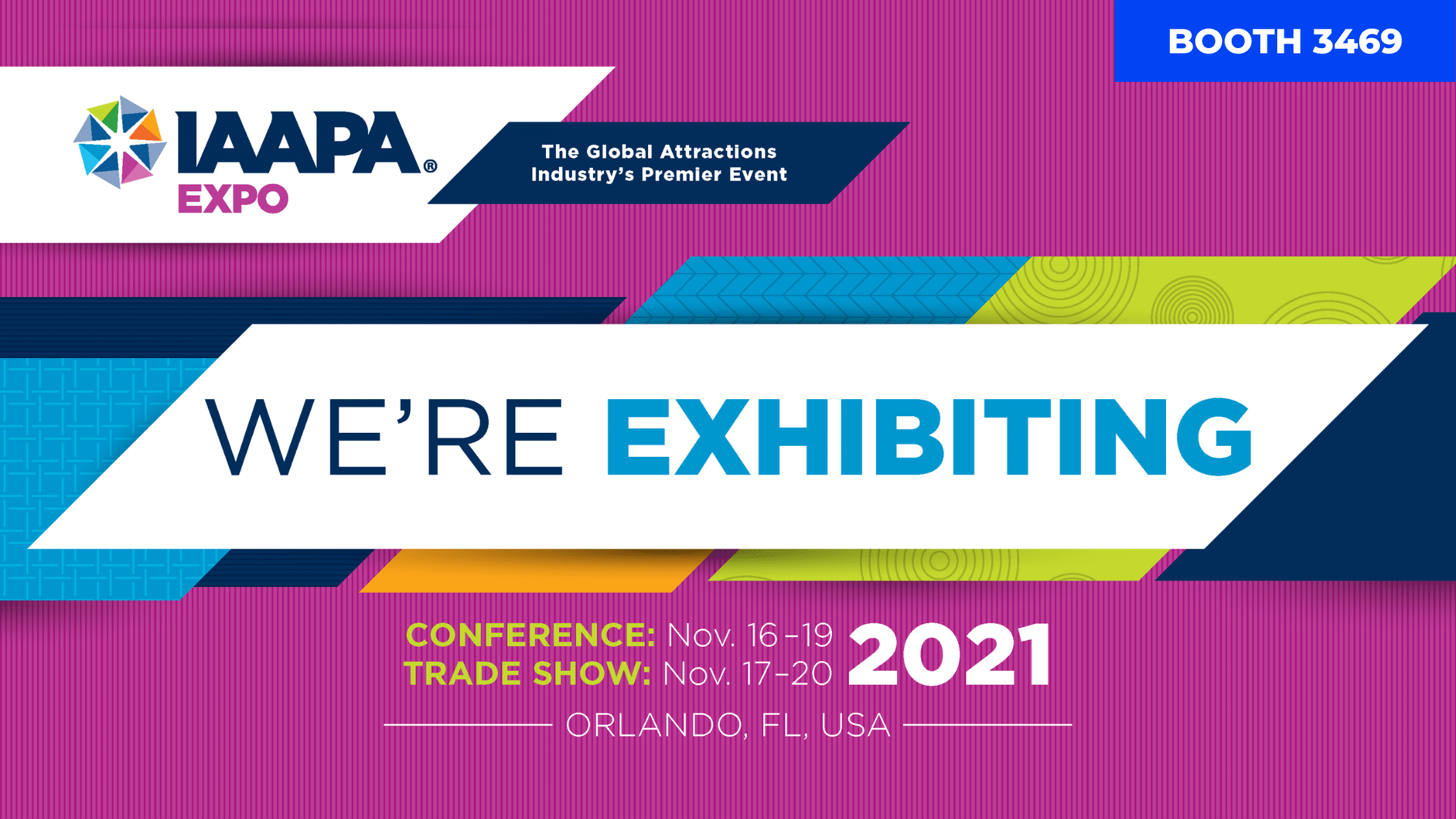 Laserforce at IAAPA Expo Orlando 2021